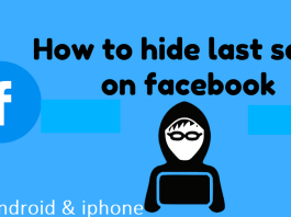 How to Hide Lat Seen on Facebook