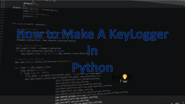 How to make a keylogger in Python - How to Create a Keylogger