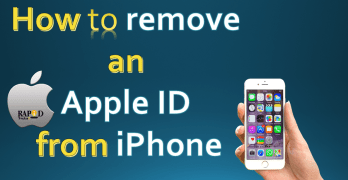 How to remove an Apple ID from iPhone