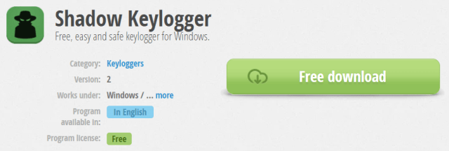 Shadow Keylogger - How to create a Keylogger
