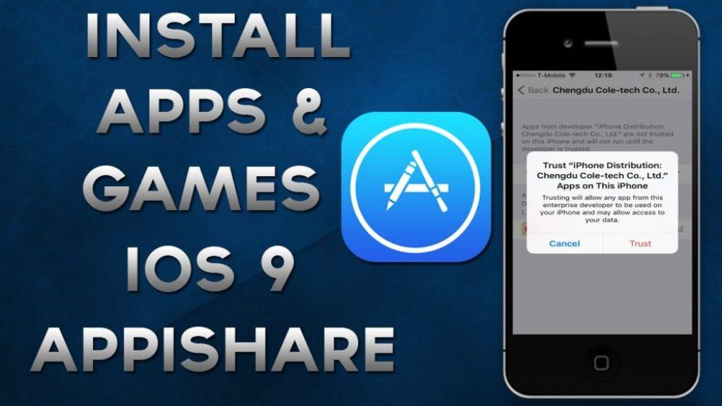 Appishare for iOS