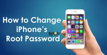 How to change iPhone root password