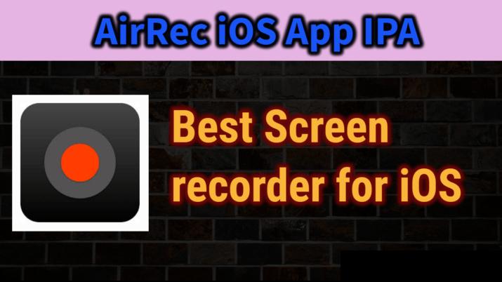 Airrec Screen Recorder iOS