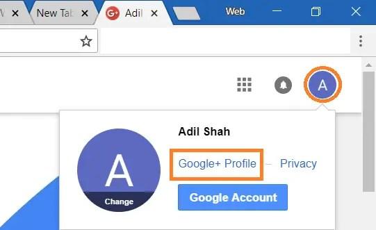 Delete Google Profile Picture