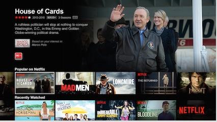 Netflix origcontnet