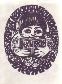 Rapla Keskraamatukogu lasteosakond. 1976 mai