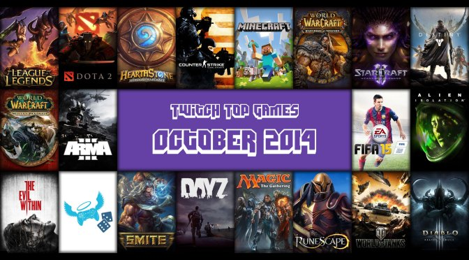 Top Twitch Games for October 2014 – Extra Life Edition