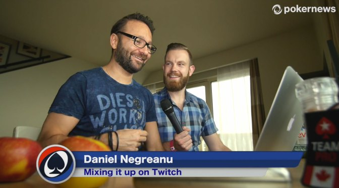 Daniel Negreanu Mixes it Up on Twitch