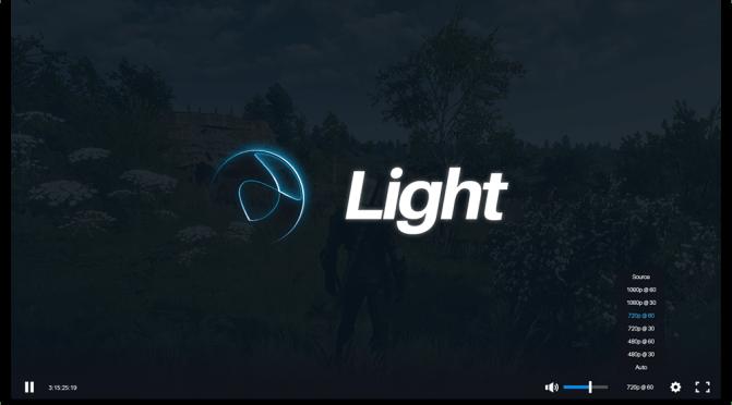 Beam Announcing Light