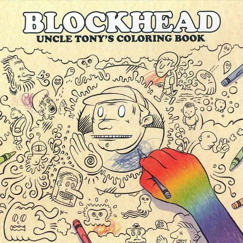 Blockhead – Uncle Tony's Coloring Book