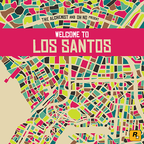 AA.VV. – The Alchemist And Oh No Present Welcome To Los Santos