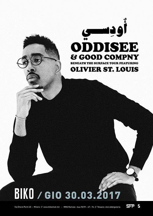Oddisee live a Milano – 30/03/17
