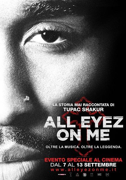 "Dal 7 settembre arriva nei cinema italiani ""All Eyez On Me"" di Benny Boom"