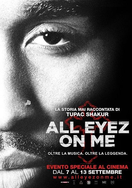 "Dal 7 settembre arriva nei cinema italiani ""All Eyez On Me"" di Benny Boom"