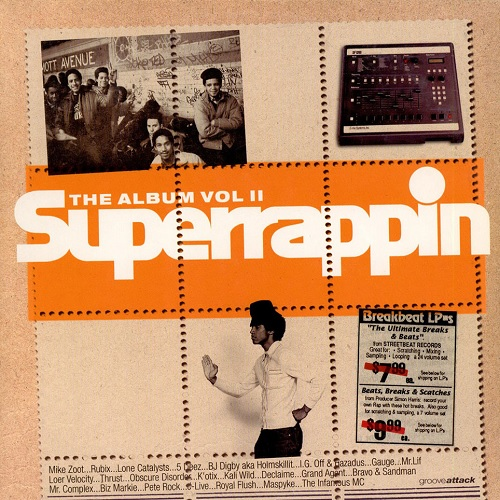 AA.VV. – Superrappin The Album Vol. II