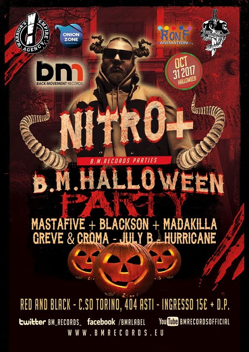 B.M. Records festeggia Halloween con Nitro