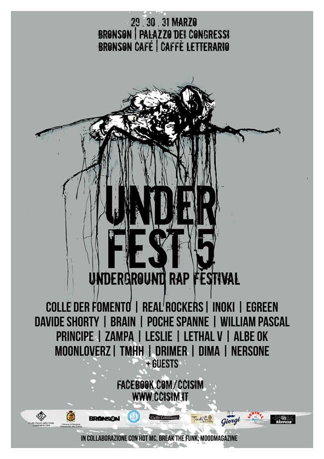 Under Festival Vol. V: 29/31 marzo 2018