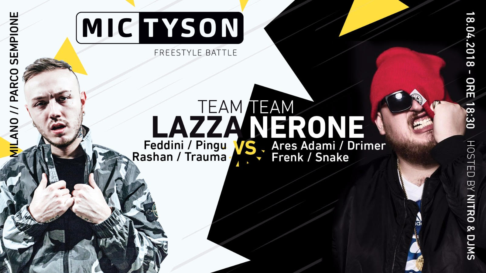 Mic Tyson Team Battle