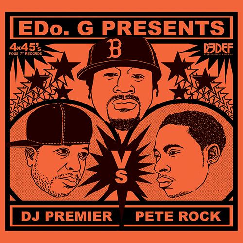 Edo G., Dj Premier and Pete Rock – Edo G. Presents Dj Premier Vs Pete Rock