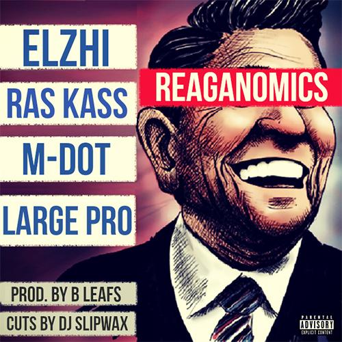 """B Leafs produce """"Reaganomics"""" per Elzhi, Ras Kass, M-Dot e Large Pro"""
