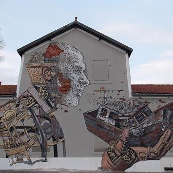 Gomitolo Perduto ONLUS organizza un contest di street art sul tema dell'immigrazione
