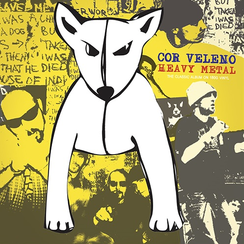 "Antibemusic ristampa ""Heavy metal"" dei Cor Veleno in doppio vinile"