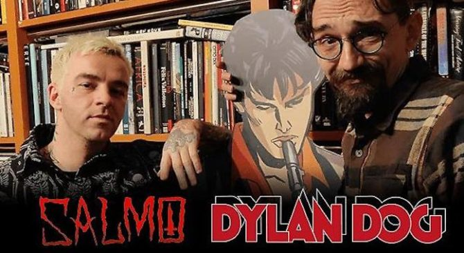 Salmo collabora a un fumetto di Dylan Dog