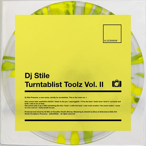 "Aldebaran Records pubblica ""Turntablist toolz vol. II"" di Dj Stile"
