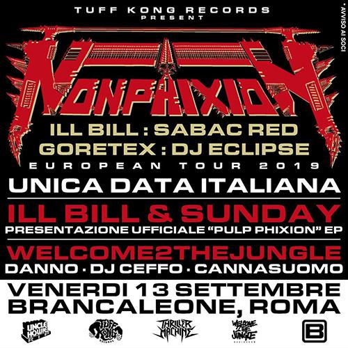 Tuff Kong Records riporta i Non Phixion a Roma il prossimo 13 settembre!