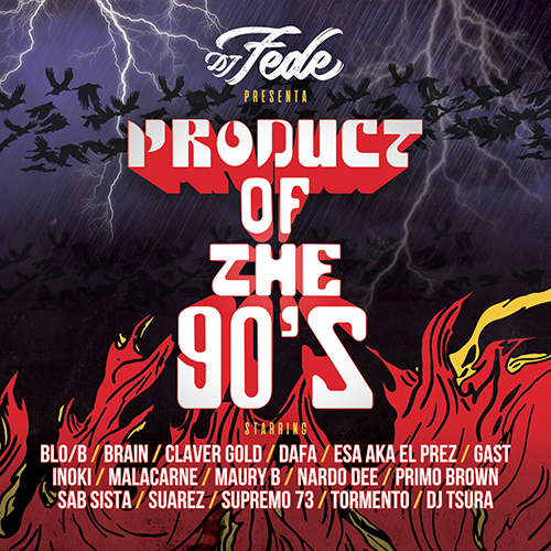 "Dj Fede pubblica ""Product of the 90's"""