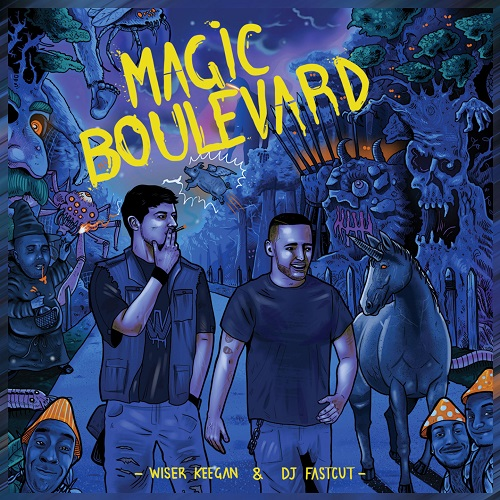 """Magic boulevard"" e' il nuovo album di Wiser"