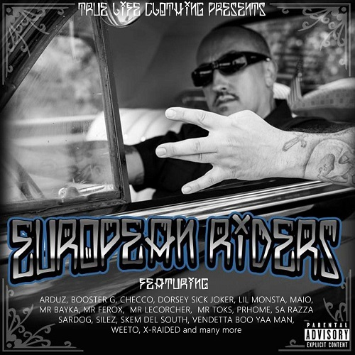 "L'Hip-Hop west coast europeo si riunisce in ""European Riders"""