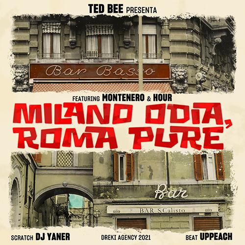 """Ted Bee pubblica """"Milano odia, Roma pure"""""""