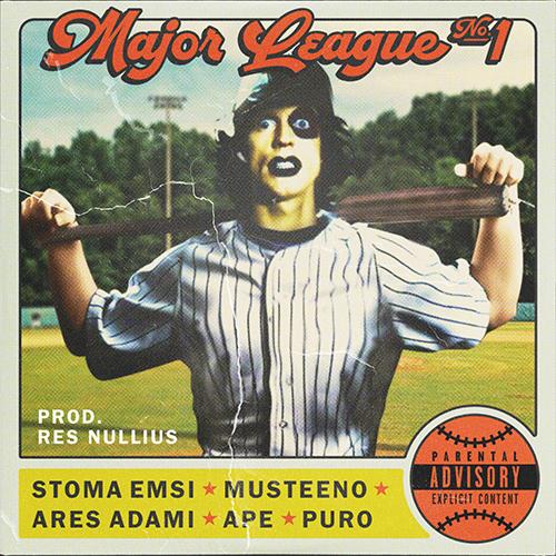 """""""Major league n°1"""" e' la posse di Ape, Ares Adami, Musteeno, Stoma Emsi, Puro Soultrain e Res Nullius"""