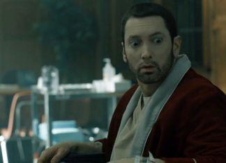 Eminem Framed video
