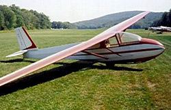 Schweizer SGS 2-33A sailplane