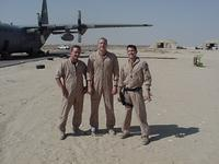 Micheal and the crew in Jaber