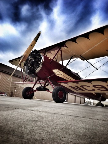 This Travel Air 4000 was built in 1929, making it nearly 85 years old! But it looks and flies like new.