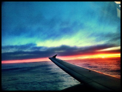 If there's one thing you get to see plenty of when you fly, it's beautiful sunsets, and 2011 had more than its share!