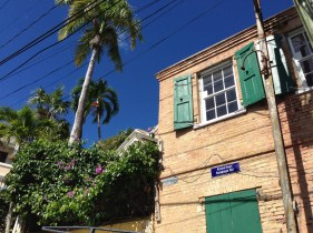 Love the architecture! Caribbean shabby chic.