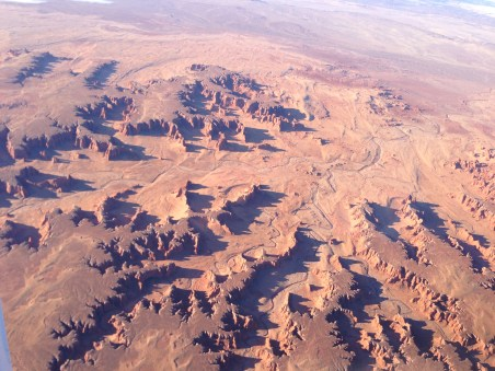 Looks like an alien planet, doesn't it? This was taken in eastern Arizona.