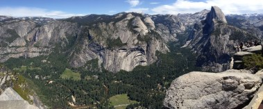 The majestic view from Glacier Point