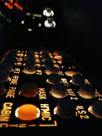 This audio panel is a button-pusher's dream.