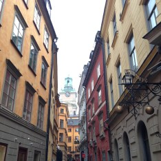"""Gamla Stan"", aka The Old City, dates back to the 13th century, and consists of medieval alleyways, cobbled streets, and archaic North German-style architecture."
