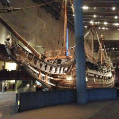 One of the highlights of the trip was a visit to the Vasa Museum.