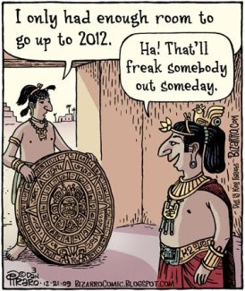 Oh those wacky Mayans!