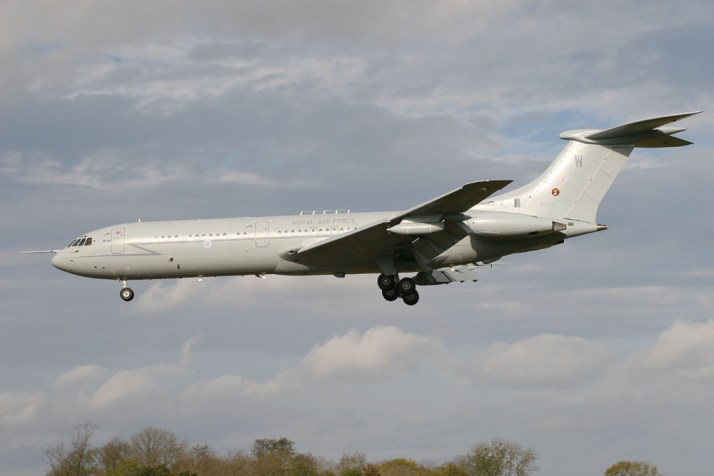 """Matts favourite airliner was the Vickers VC-10, built in the 1960s and an all British design, including the Rolls Royce Conway engines. Just 54 were made as the type suffered political interference and lost out against for airline orders to the Boeing 707 and Douglas DC-8. But it was hugely popular with both pilots and passengers, being smooth and fast, and very quiet inside due to its rear mounted engines. They left airline service in the early 1980s, but many soldiered on in military service with the Royal Air Force as tanker/transport airplanes until September 2013 when the type was retired, over 51 years after the VC-10 first flew. """"The airplane had an incomparable grace and character, and those hugely thirsty Conway engines had a unique howl that was both very loud and very endearing, whilst trailing smoke as far as you could see when they took off"""" The phrase """"they don't build 'em like that any more"""" was never more apt. I'd go and watch these airplanes all the time at their base at RAF Brize Norton, When they were doing their monthly base training they would be in the circuit for a couple of hours doing touch-and-goes and it was the best airshow I've seen"""""""