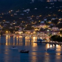 St. Thomas at night. Probably one of my better Instagrams.