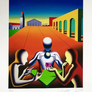Mark Kostabi - A Matter Of Perspective - RapportArt