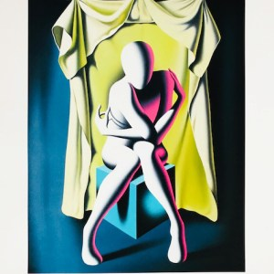 Mark Kostabi - unveiled Introspection - Galerie Rapport'Art